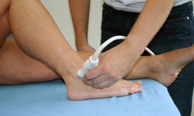 Echografie bij Fysiotherapie Houtwal